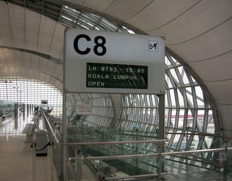 Image Gate Abflug