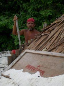 Bild survivor lager auf der Insel